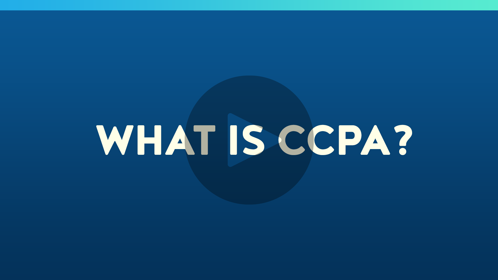 What is CCPA