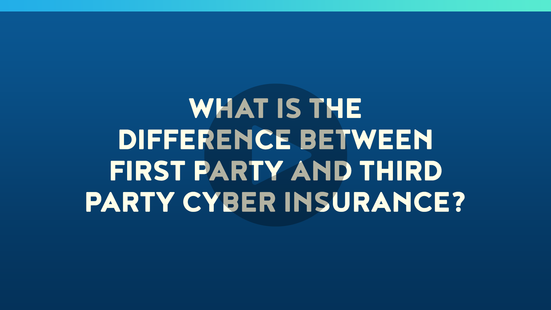 What is the Difference Between First Party and Third Party Cyber Insurance?