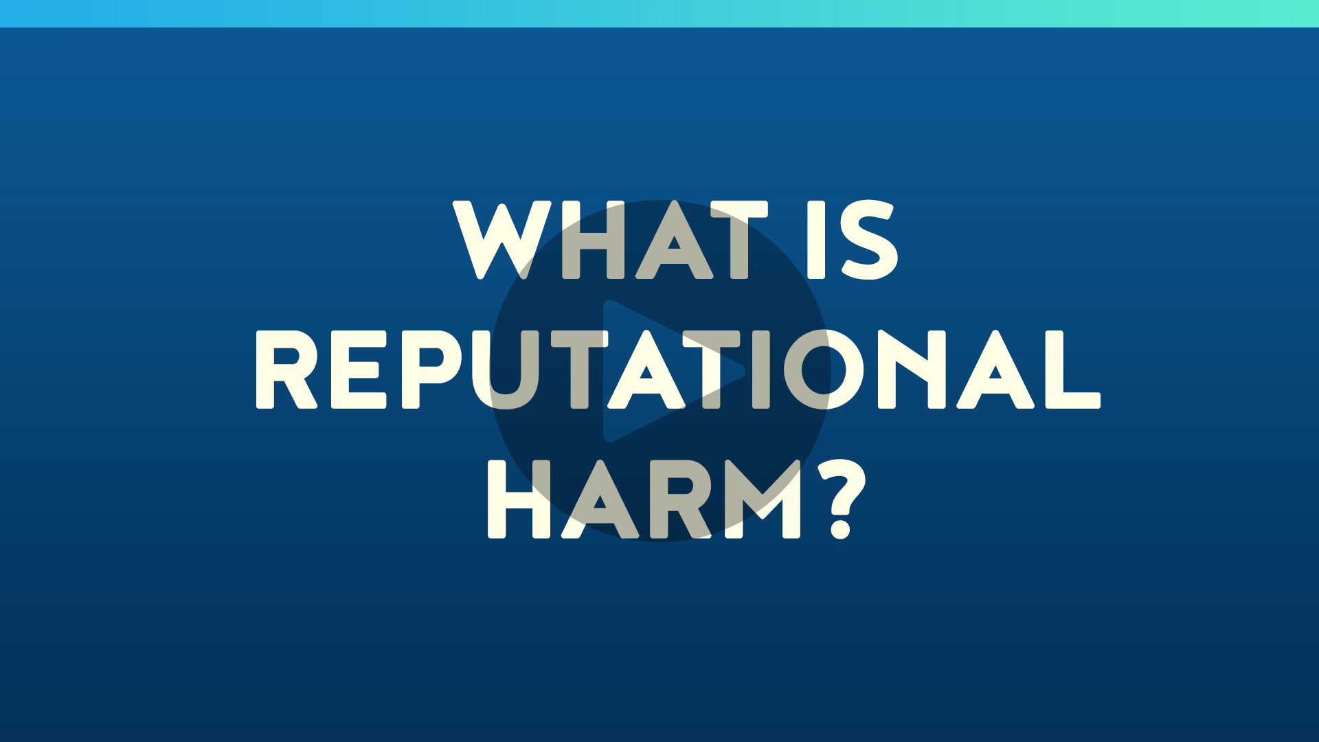What is Reputational Harm?
